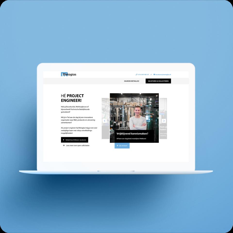 actie website metaglas